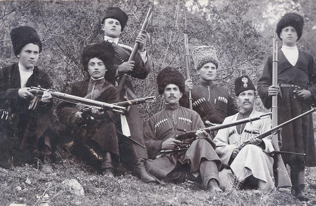 Не только шашака казаку в степи подмога! казаки, оружие