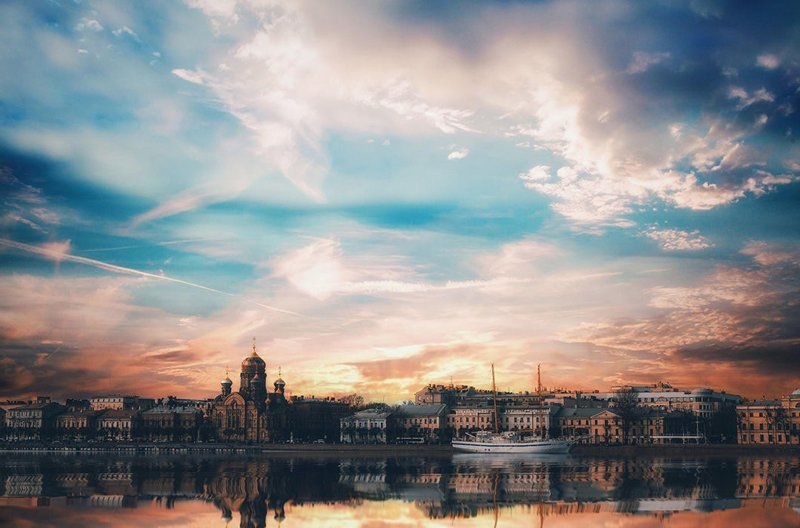 Санкт-Петербург зима, красота, природа, россия, фото