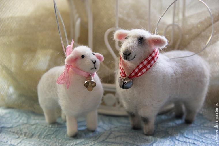 Валяние из шерсти овца мастер класс