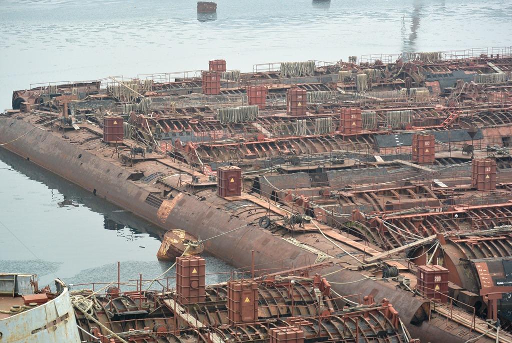 утилизация атомных подводных лодок россии