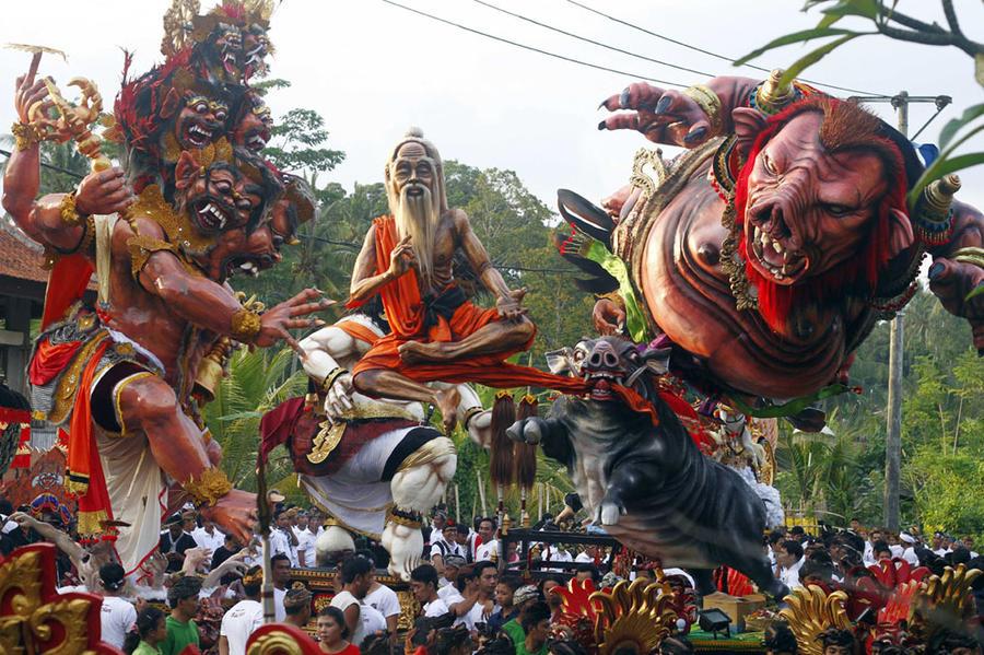 Ниепи или День тишины на Бали..