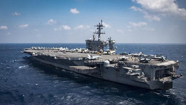 КНДР пригрозила потопить американский авианосец