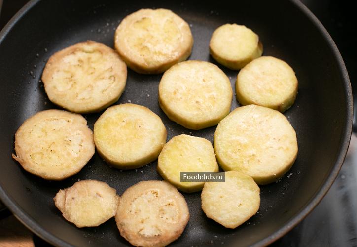 Салат из баклажанов (этап 2)