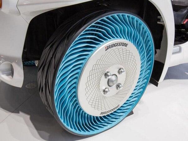 Bridgestone представила новые шины, которые никогда не спускают