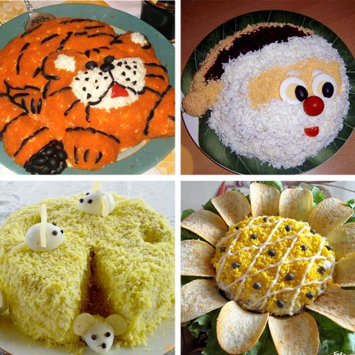 grey День рождения ребенка: украшение блюд (в картинках)