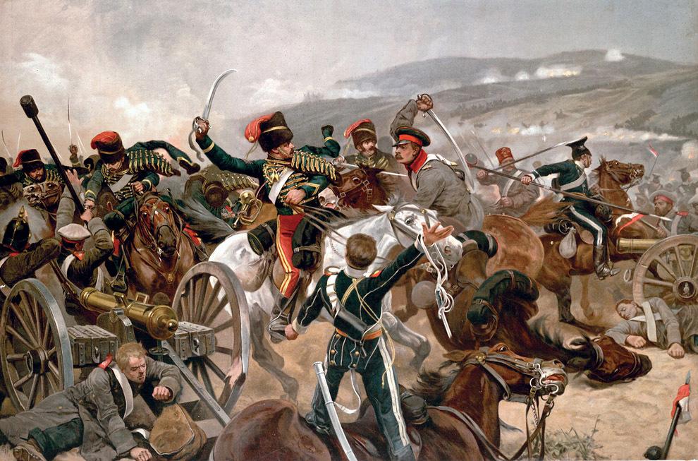 Атака легкой кавалерии