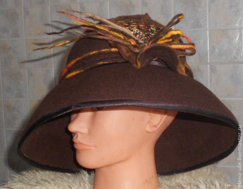 Валяние шляп с полями