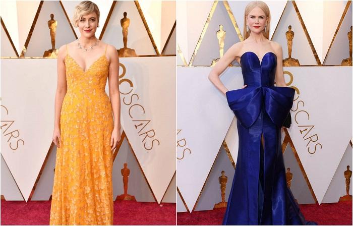 Стильный «Оскар-2018»: 14 неожиданных нарядов, в которых звёзды появились на красной дорожке