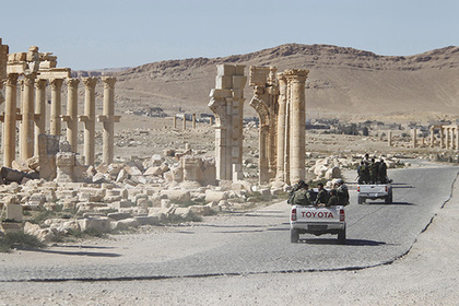 Генштаб рассказал о планах ИГ взорвать исторические памятники в Пальмире