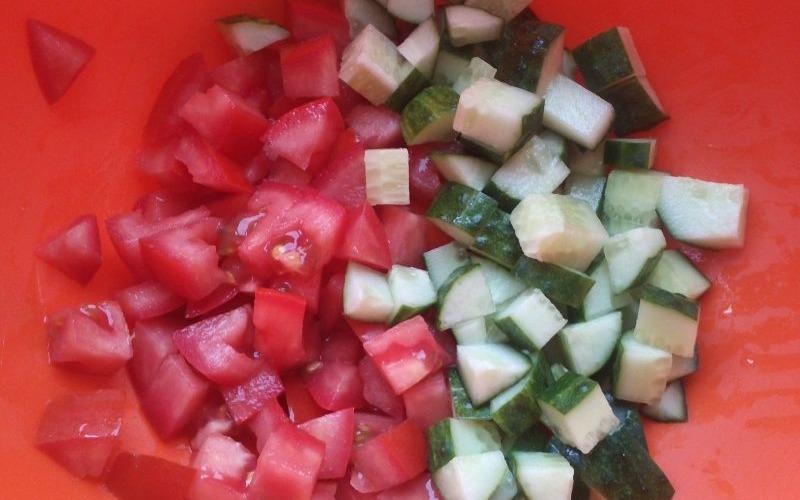 рецепт таматной окрошки