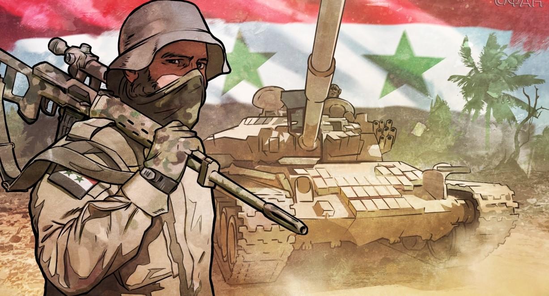 Сирийские правительственные …