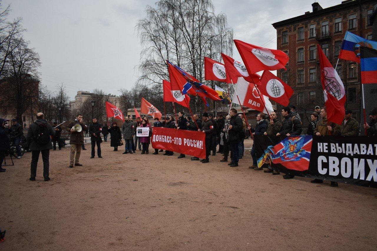 Не выдавать своих! Донбасс - это Россия: граждане РФ восстали против депортации ополченцев на Украину - массовые митинги в Москве и Петербурге