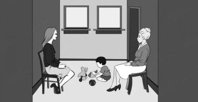 Кто из женщин мама этого малыша? Отличный психологический тест!