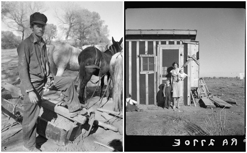 Нелёгкие 30-е: жизнь в штате Нью-Мексико в фотографиях