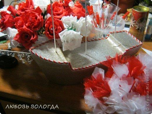 Свит-дизайн День рождения Моделирование конструирование Корабль мечты Бумага гофрированная Продукты пищевые фото 12