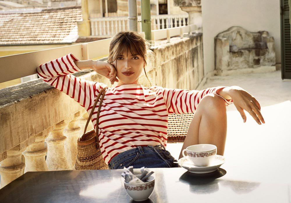 It-girl Jeanne Damas - образец парижского простого и гениального стиля