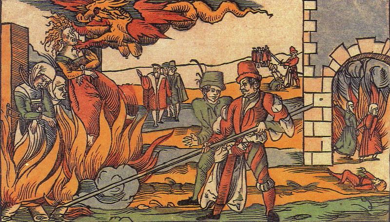 За что инквизиция сжигала на кострах еретиков