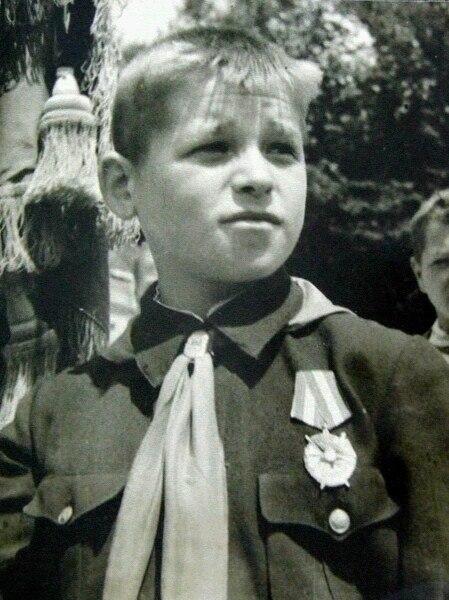 Костя Кравчук - самый юный в СССР кавалер ордена Боевого Красного Знамени