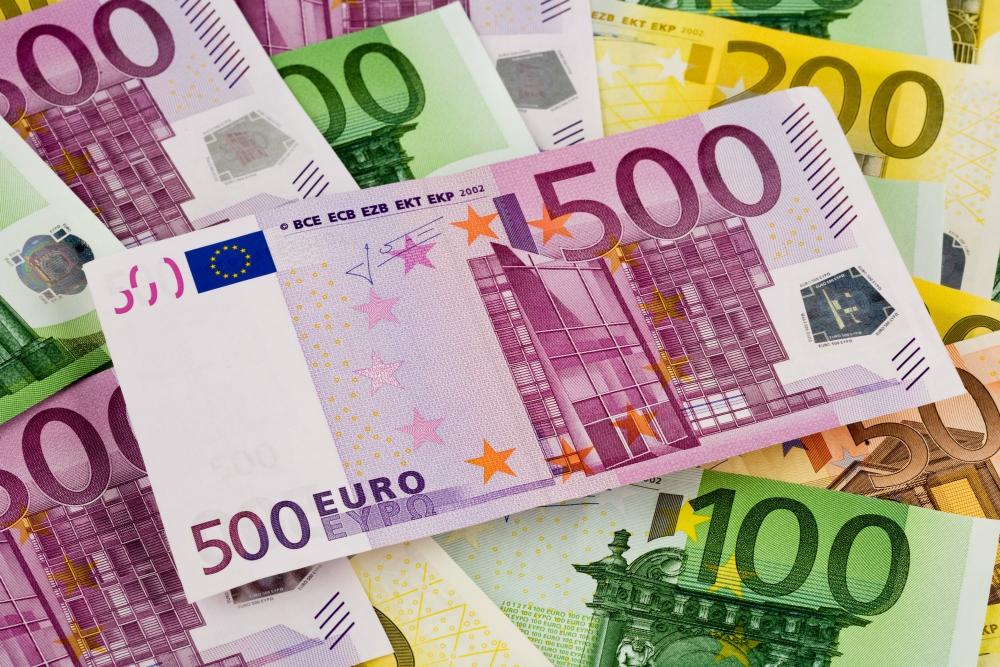 Курс евро на среду снизился на 58 копеек