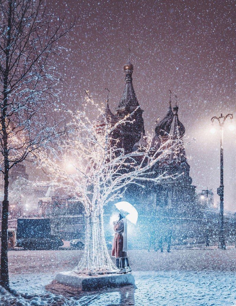 16. достопримечательность, зима, кристина макеева, москва, сказка, снег, фотография, фотомир