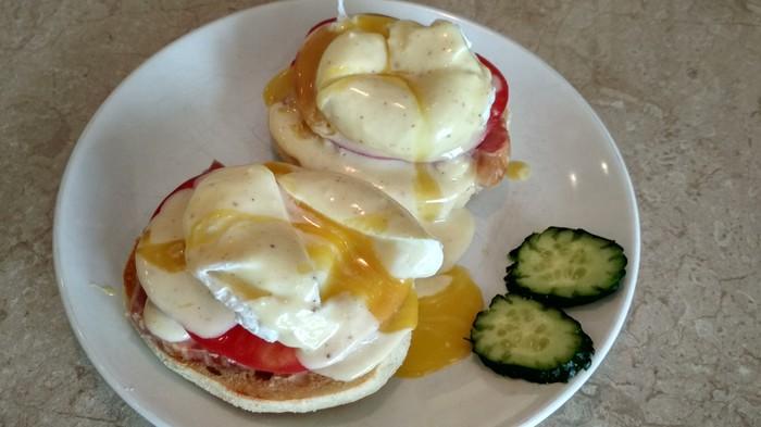 Яйца Блэкстоун под соусом Голландез. Длиннопост, Яйца, Яйца пашот, Кулинария, Маффины, Яйца бенедикт, Рецепт