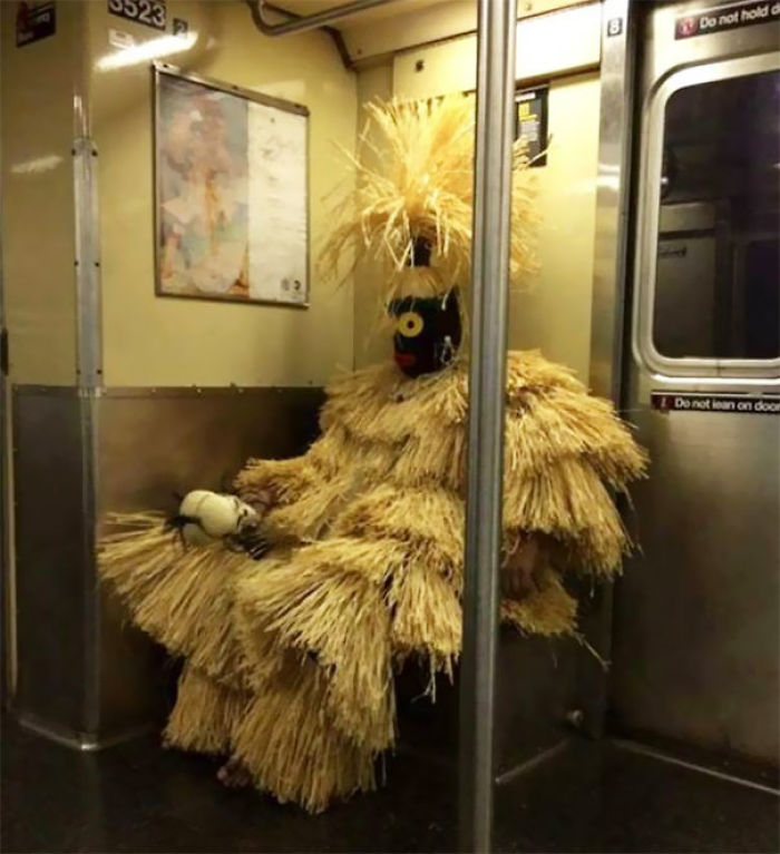 Taking A Ride On The Subway
