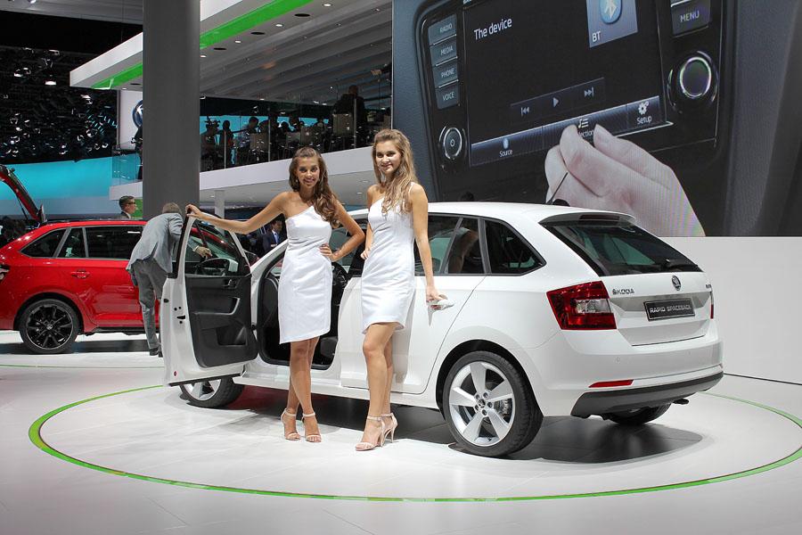09 Девушки франкфуртского автосалона 2013