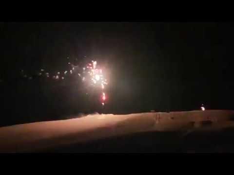 Свет Пальмиры: сирийцы отметили День России фейерверком на газовых полях
