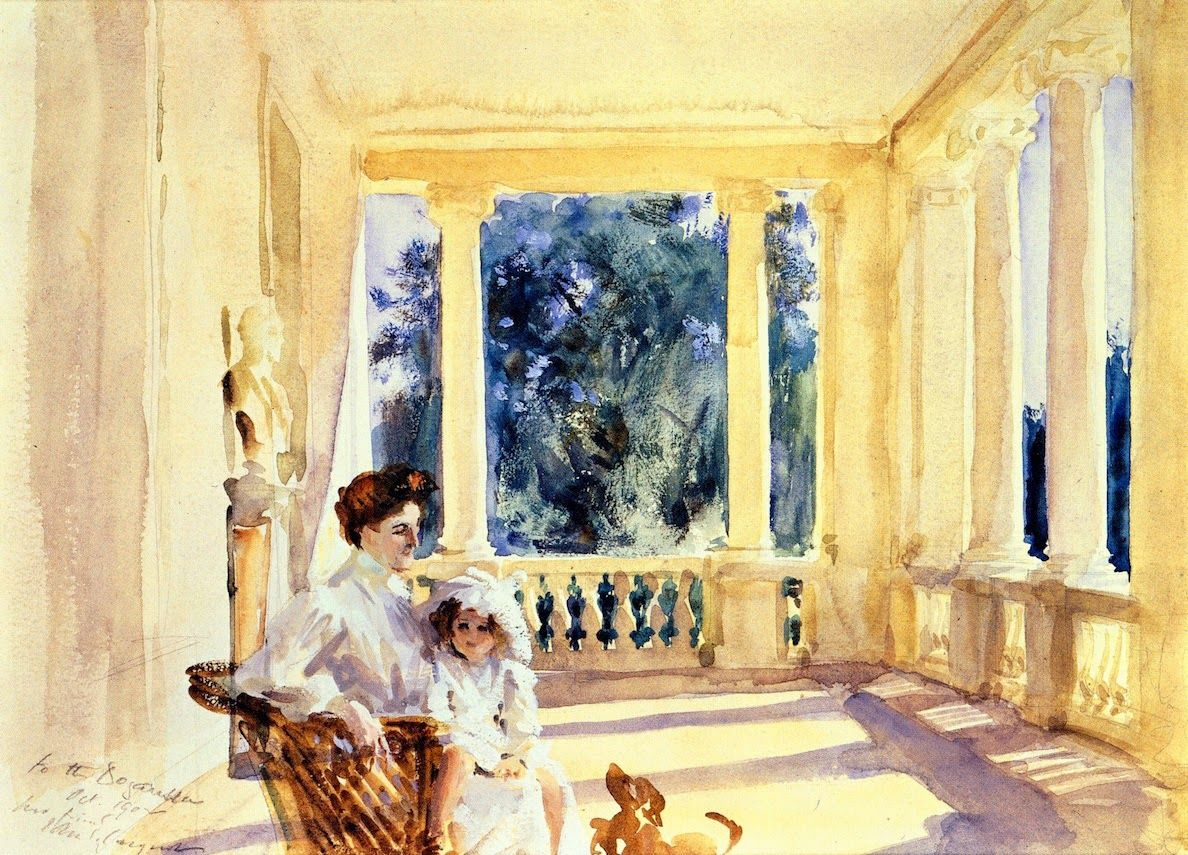 Картинки по запросу john singer sargent mothers paintings