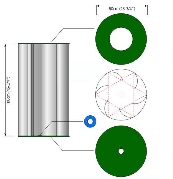 Вертикальная ветроустановка