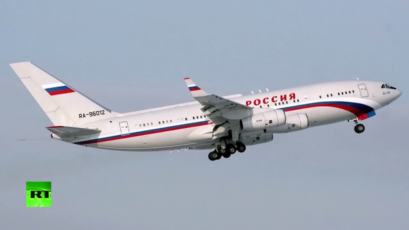 Сюжет про борт №1: школьник из Башкирии опубликовал кадры с самолёта Путина