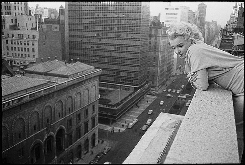 marilyn07 Редкие фото Мэрилин Монро в Нью Йорке