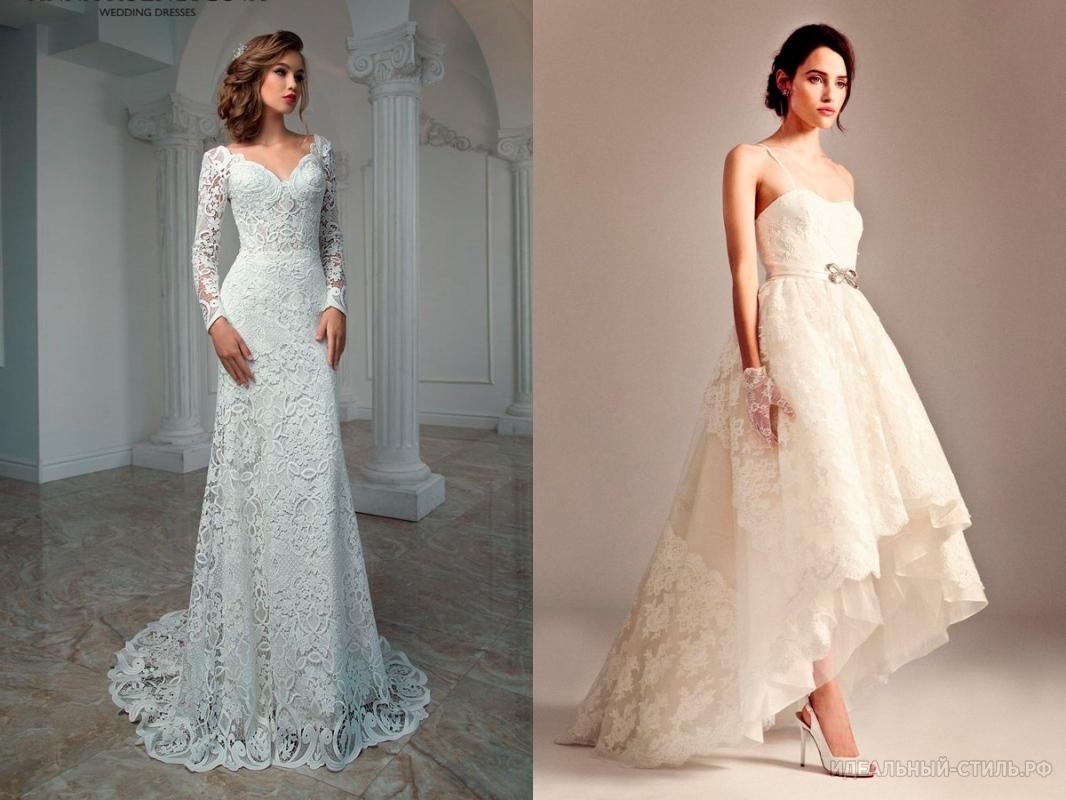 Свадебные платья гипюр кружево