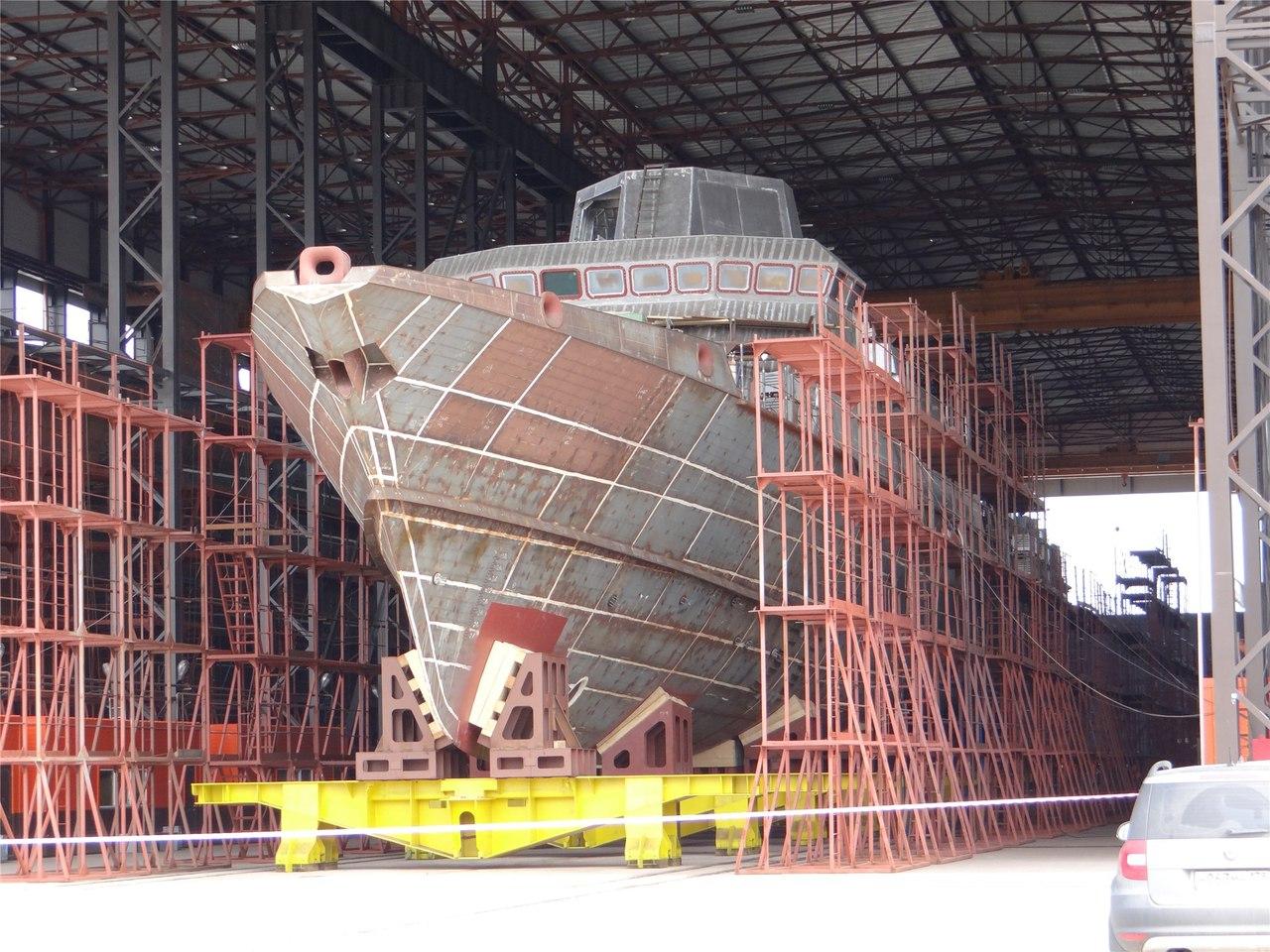 Заказ на постройку шести малых ракетных кораблей проекта 22800 может получить Амурский завод