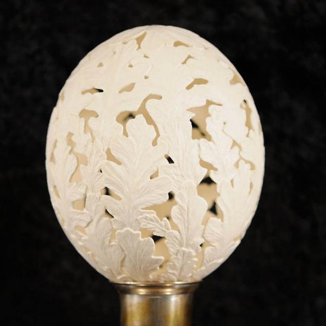 Кружева на яичной скорлупе