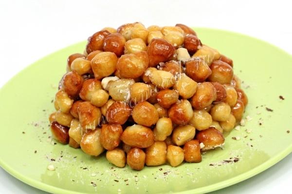Рецепт чак-чак с медом