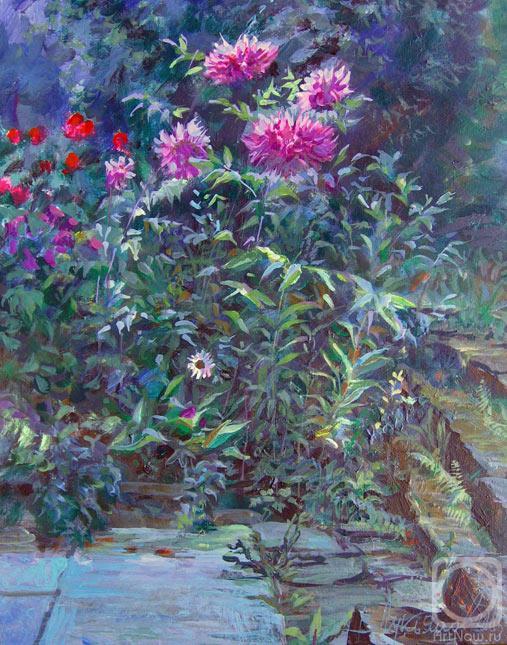 Лукьянов Виктор. Вечер в саду