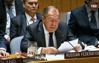 Лавров рассказал об угрозах архитектуре международной безопасности