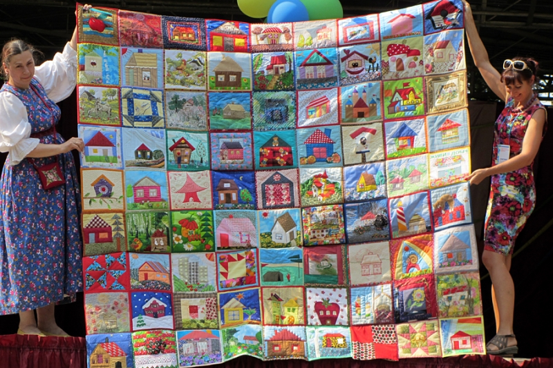 Невообразимые лоскутные одеяла! А вам нравится?