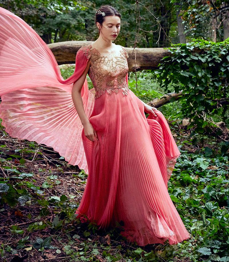 Платья для лесной нимфы от Marchesa