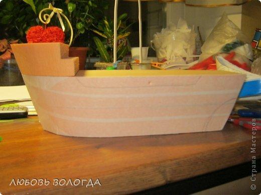Свит-дизайн День рождения Моделирование конструирование Корабль мечты Бумага гофрированная Продукты пищевые фото 3