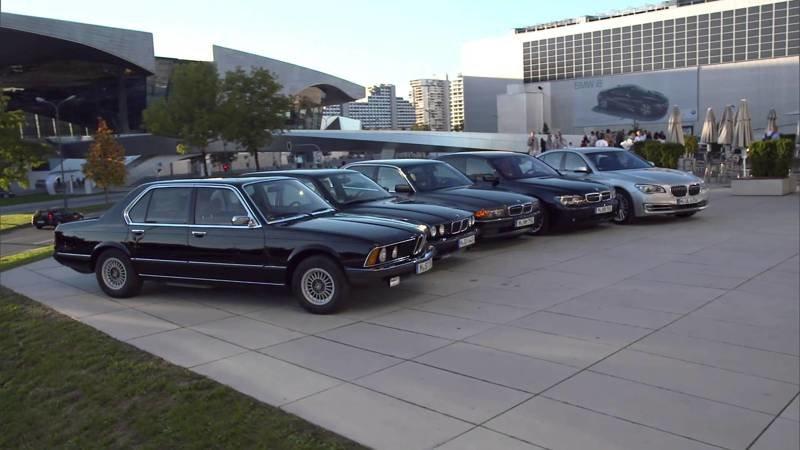 Эволюция немецких автомобилей люкс/премиум класса
