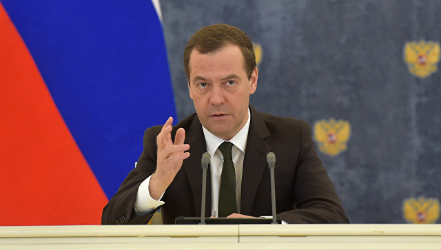 Медведев заявил, что ударом по Сирии Трамп доказал свою несамостоятельность