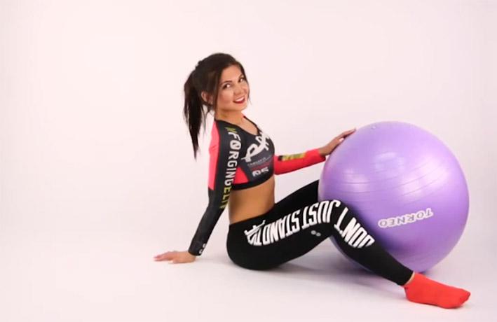 ДЕРЖИМ ФОРМУ. Упражнения на фитболе для похудения после родов