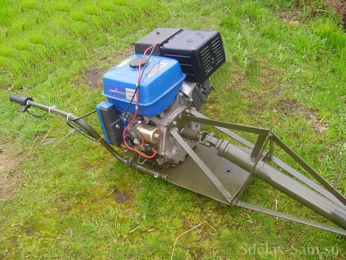 самодельный подвесной лодочный мотор
