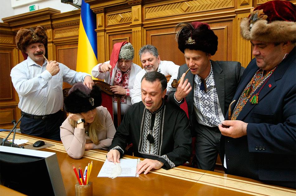 Украинские политики: картина маслом. Павел Шипилин