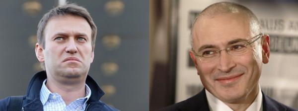 Навальный и Ходорковский