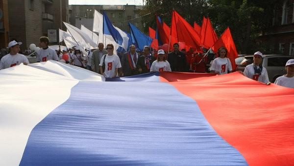 Россия в двадцатый раз отметит день государственного флага