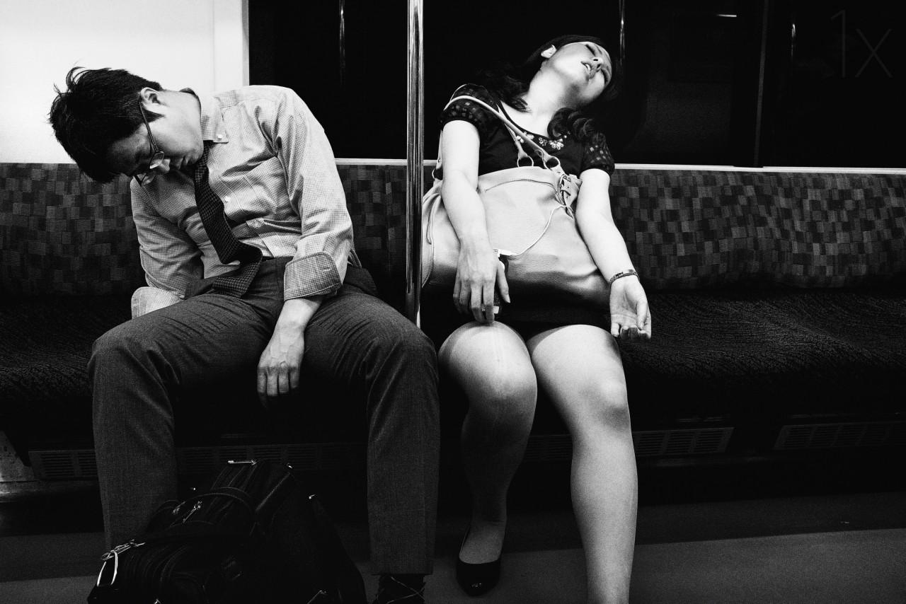 Уличные портреты от японского фотографа Tatsuo Suzuki