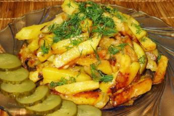 Жарим картошку правильно с румяной корочкой